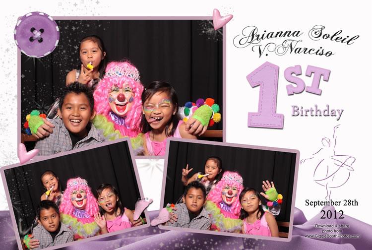 Birthday Arianna Soleil 1st 2012