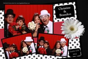 Wedding Christine and Brandon 2012