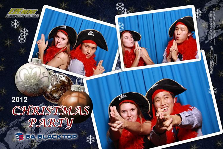 BA Black Top Christmas Party 2012
