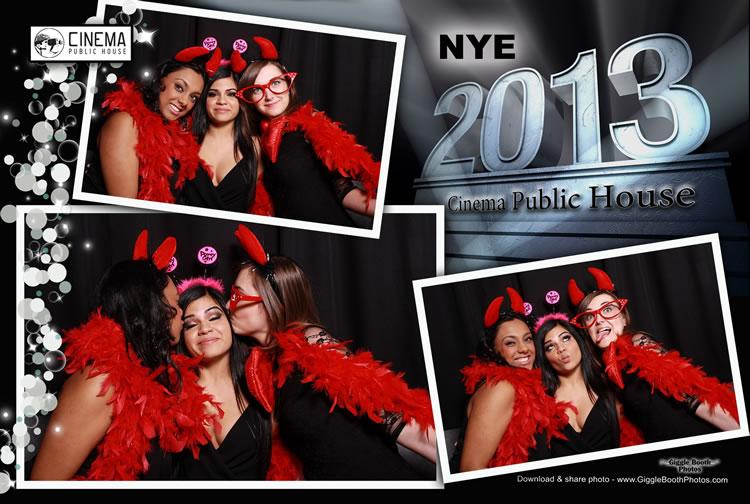 Cinema Public House New Year 2013