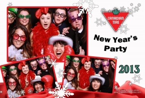 Canadian Tire New Years Party 2013