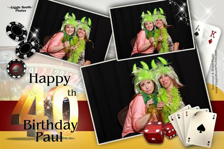 Birthday Paul 40th 2013