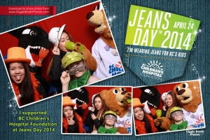 BC Childrens Hospital Jeans Day 2014