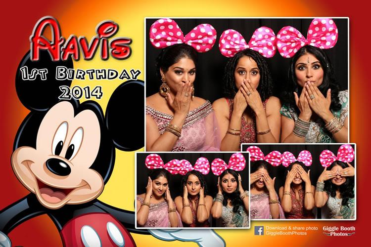 Birthday Nira Arora Aavi 1st 2014
