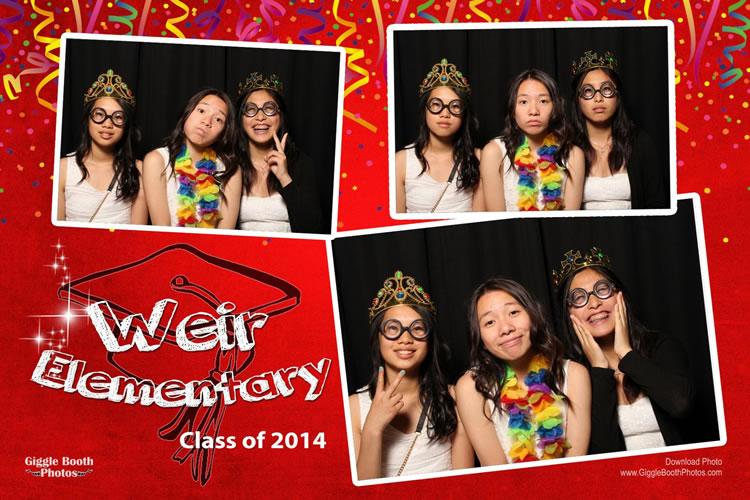 Weir Elementary Grade 7 Grad 2014