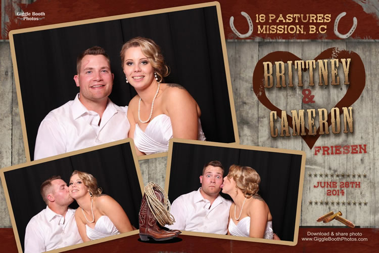 Wedding Brittany and Cameron 2014