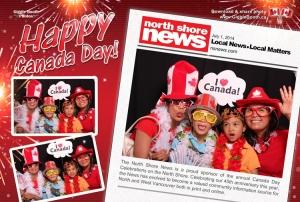 North Shore News Canada Day 2014