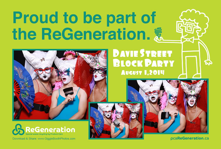 Vancouver Pride Society Davie St Block Party 2014