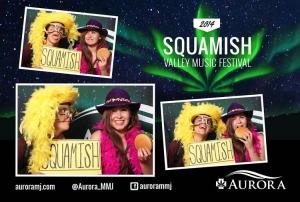 Aurora Squamish Valley Music Festival 2014