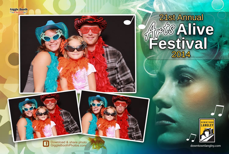 Downtown Langley BIA Arts Alive Festival 2014