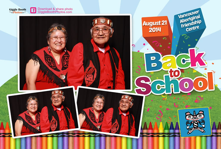 Vancouver Aboriginal Friendship Centre Back to School 2014