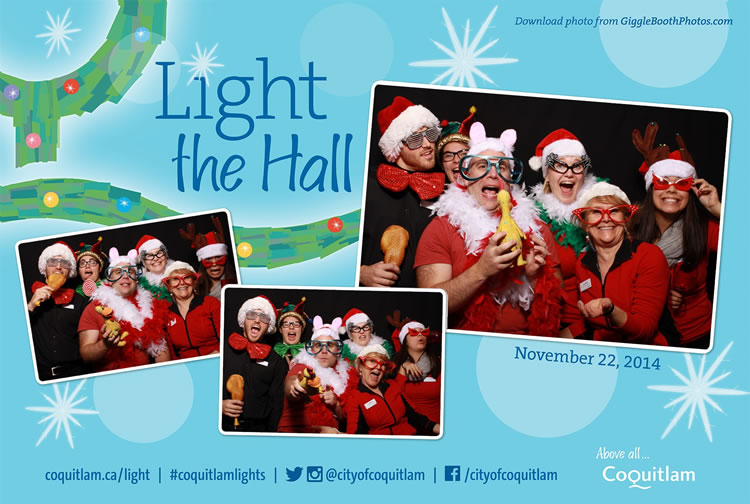 City of Coquitlam Light the Hall 2014