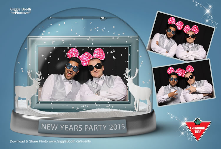 Canadian Tire New Years Party 2015