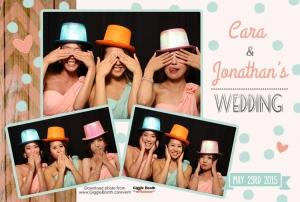 Wedding Cara and Jonathan 2015