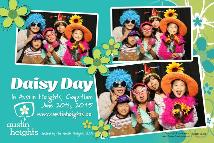 Austin Heights BIA Daisy Day 2015