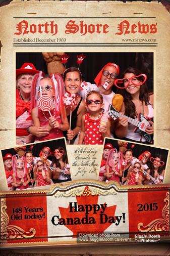 North Shore News Canada Day 2015