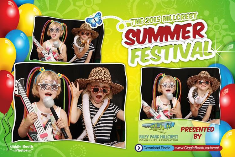 Hillcrest Community Centre Summer Festival 2015