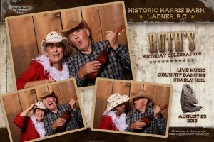 Birthday Ruths Celebration at Harris Barn 2013