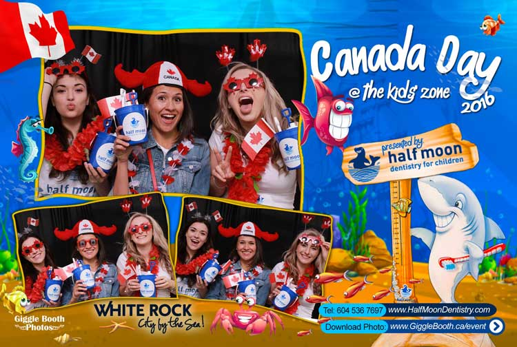 Half Moon Dentistry Canada Day 2016
