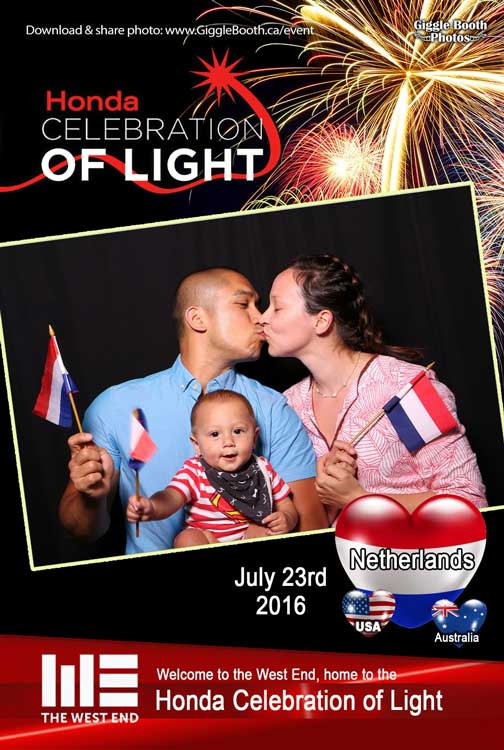 Honda Celebration Of Light - Netherlands - July 23 2016
