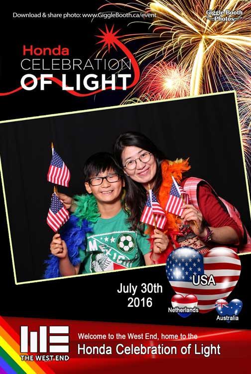 Honda Celebration of Light july 30th USA