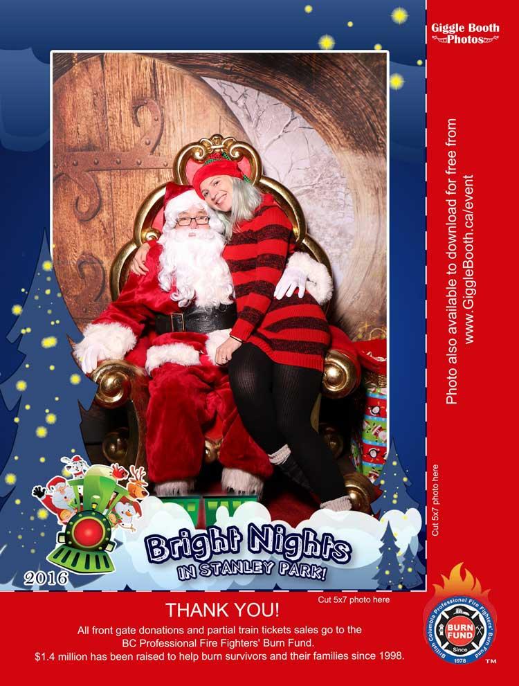 Bright Nights Santa 2016