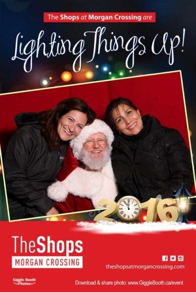 The Shops at Morgan Crossing Christmas 2016