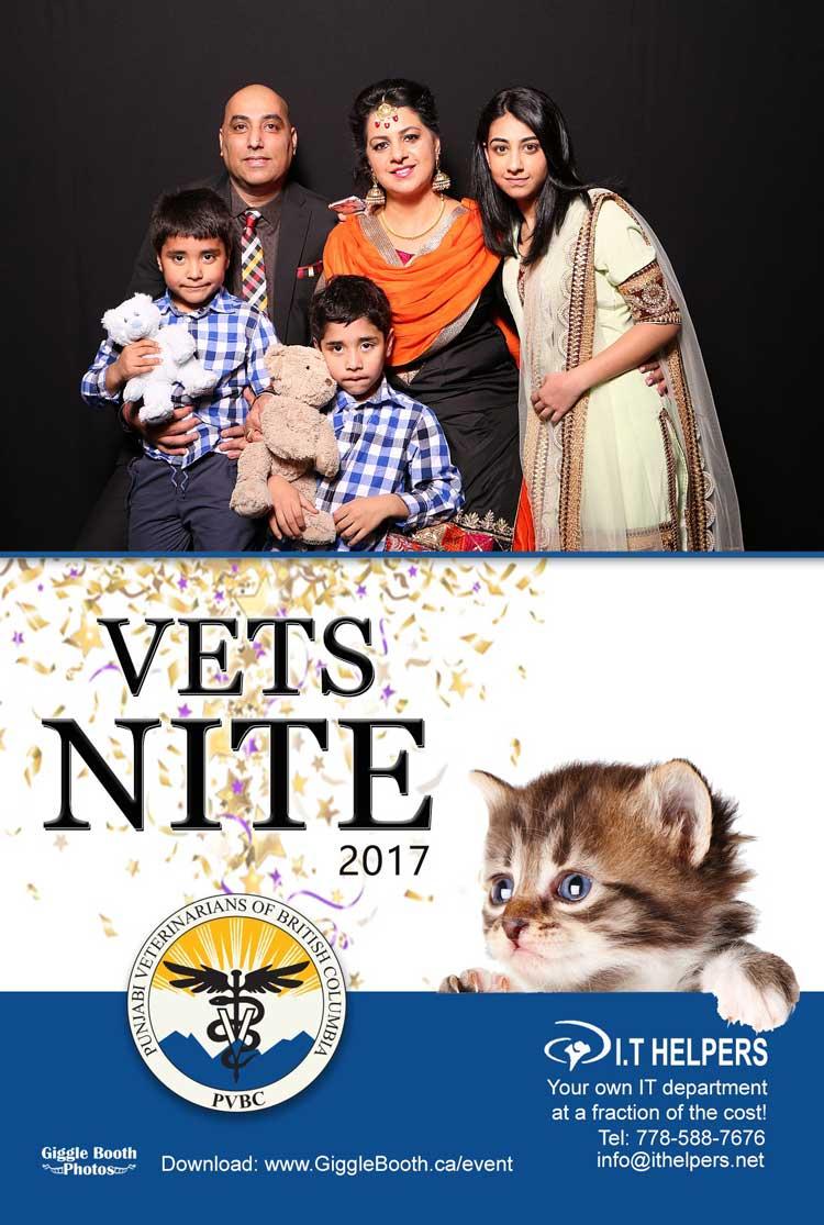 Punjabi Veterinarians of BC - 'Vets Nite 2017'