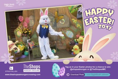 The Shops at Morgan Crossing Easter Bunny Photos - 2017