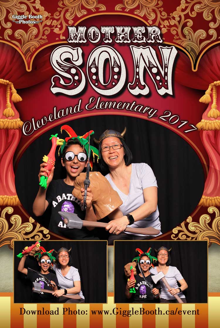 Cleveland Elementary Mother Son Event 2017