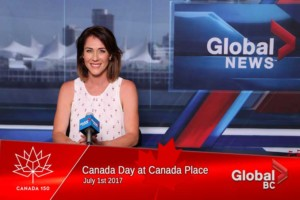 Global BC Canada Day 2017 at Canada Place