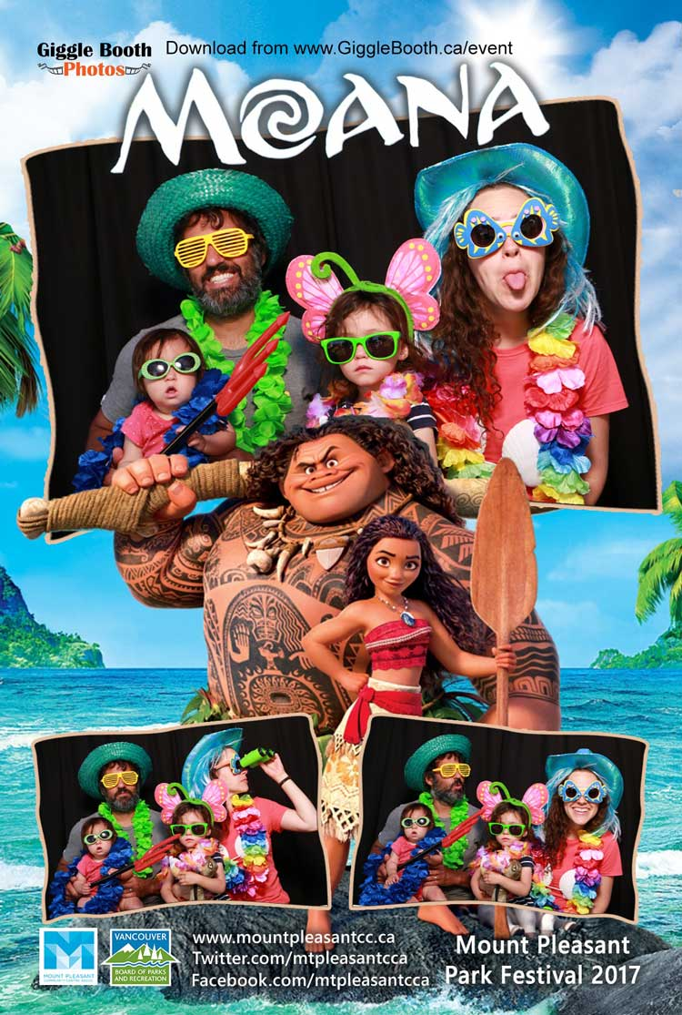 Mount Pleasant Movie in the Park 2017 - Moana