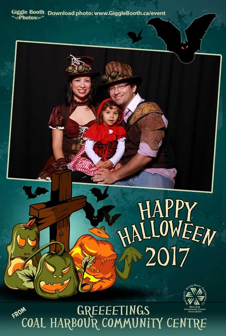 Coal Harbour Community Centre Halloween 2017