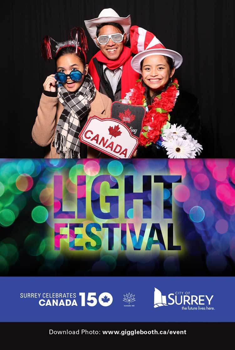 City of Surrey Light Festival 2017