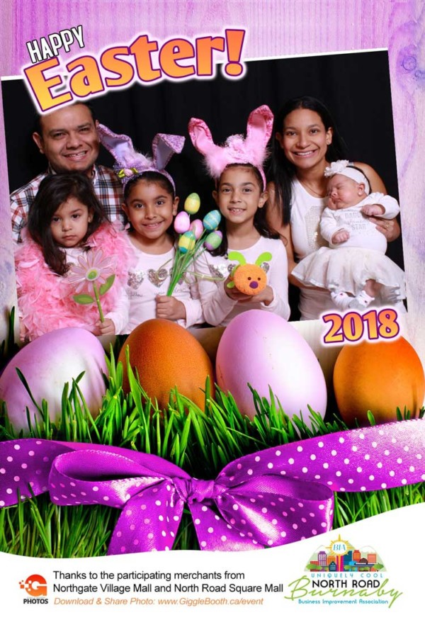 North Road Burnaby BIA Easter 2018