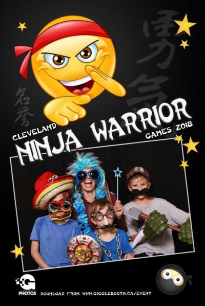 Cleveland Ninja Warrior Games 2018