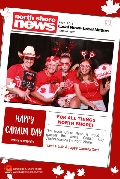 North Shore News Canada Day 2018