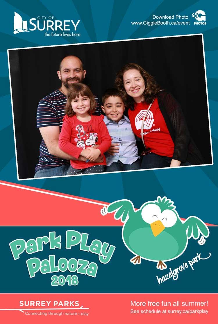 Surrey Parks Park Play Palooza 2018
