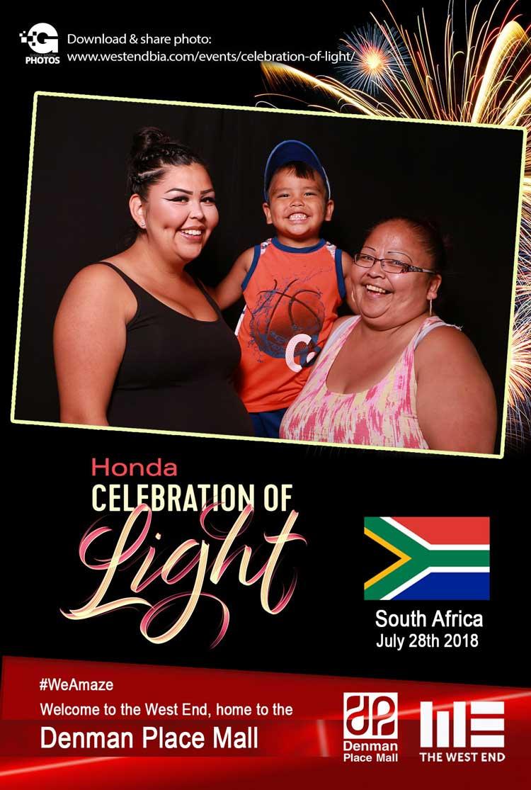 Honda Celebration of Light 2018 South Africa