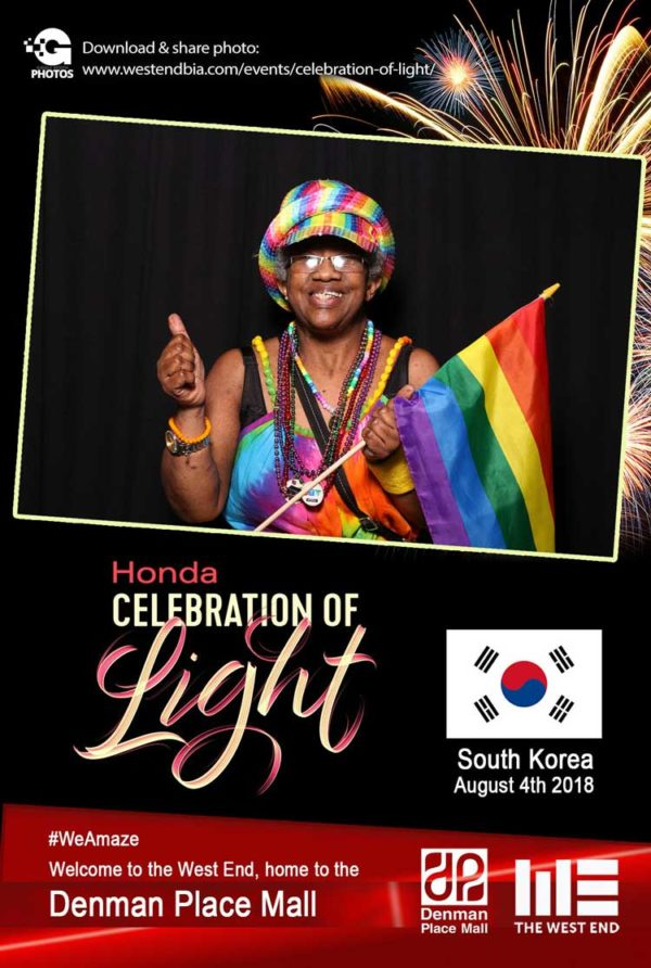 Honda Celebration of Light 2018 South Korea