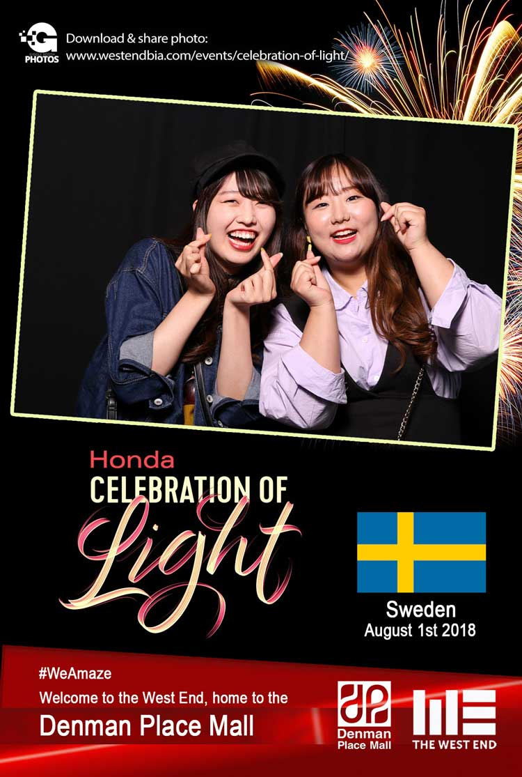 Honda Celebration of Light 2018 Sweden
