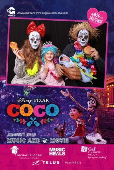 Kits on Broadway COCO Movie 2018