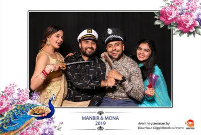 Manbir and Mona Wedding 2019