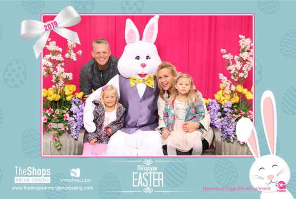 The Shops at Morgan Crossing Easter Bunny 2019