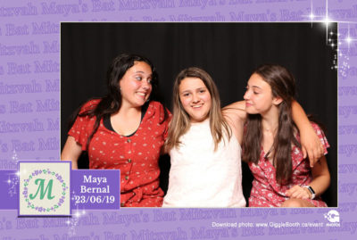 Maya Bernal Bat Mitzvah 2019