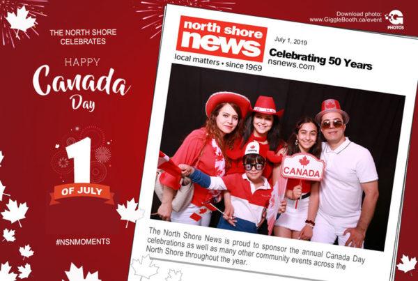 North Shore News Celebrates Canada Day 2019
