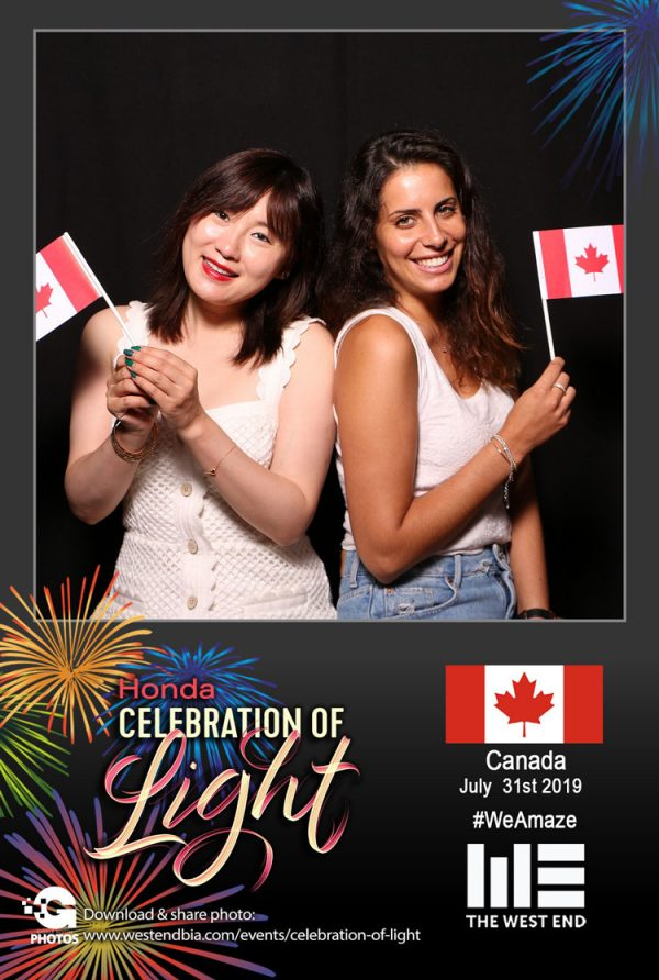 Honda Celebration of Light 2019 with The West End BIA - CANADA
