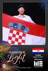 Honda Celebration of Light 2019 with The West End BIA - Croatia