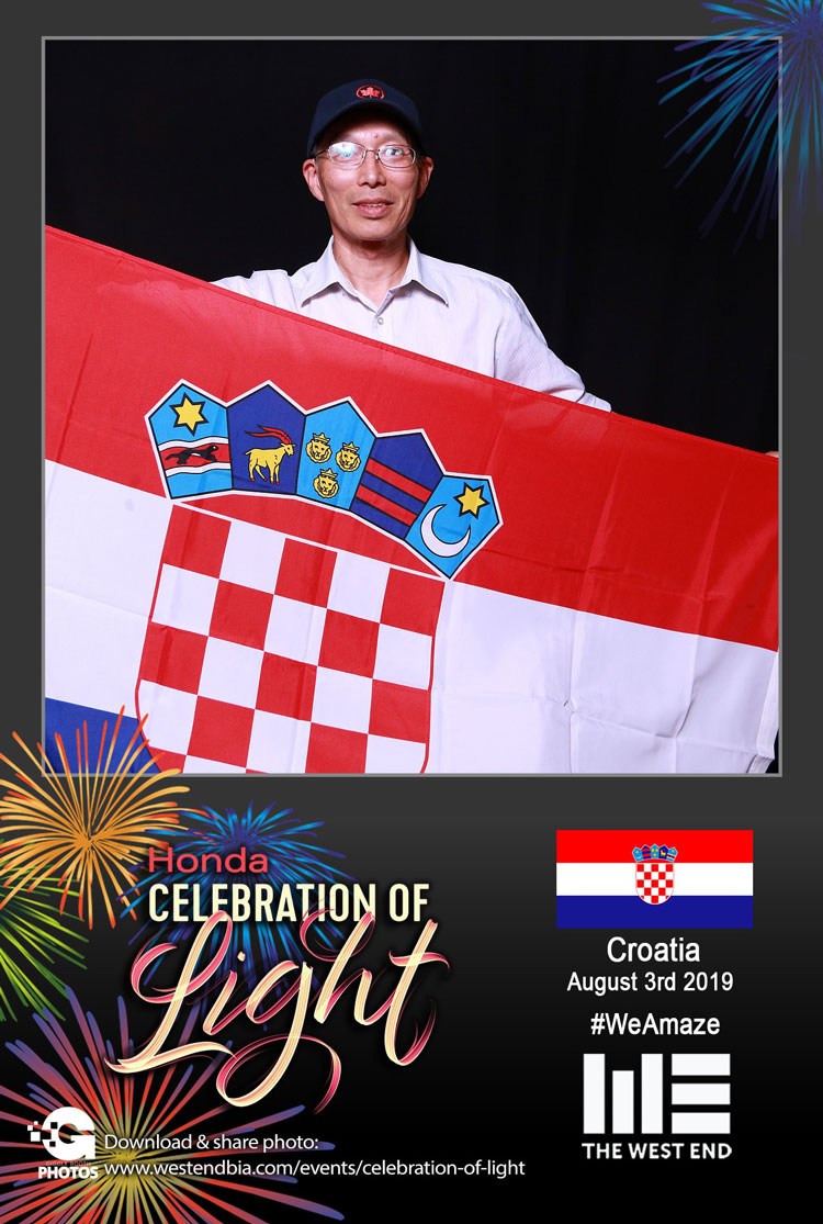 Honda Celebration of Light 2019 with The West End BIA - Croatia