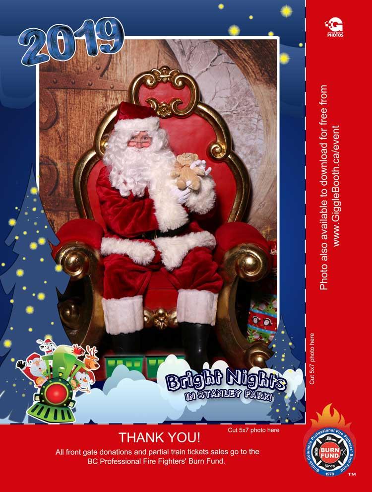 Bright Nights - Santa Photos 2019